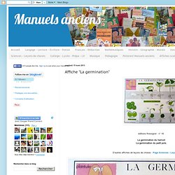 "Affiche ""La germination"""