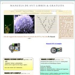 Manuels de SVT Libres & gratuits
