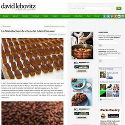 La Manufacture de chocolat Alain Ducasse