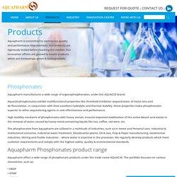 Aquapharm manufacture phosphonates-HEDP, ATMP, DTPMP, BHMTPMP