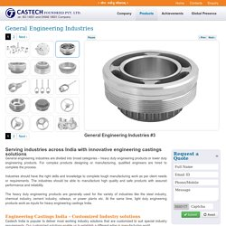A leading Manufacturer of Engineering Castings in India – CastechIndia