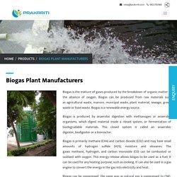 Biogas Plant Manufacturer In Pune – Prakrriti Enterprises