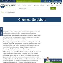 Chemical Scrubber Manufacturer & Supplier - SSE