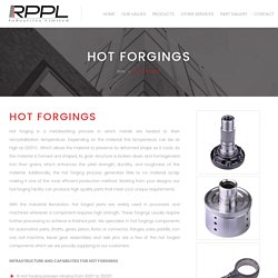Hot Forged Part Manufacturer