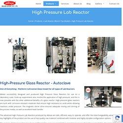 High Pressure Lab Reactor Manufacturer