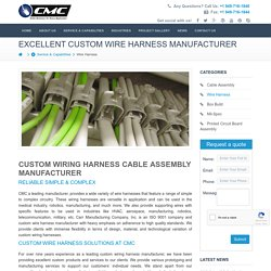Are You Searching Custom Wiring Harness Manufacturer Company