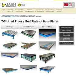 Cast Iron Bed Plates Manufacturer