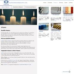 Polyethylene, Paraffin, Chlorinated