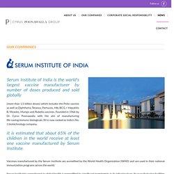 Leading vaccine manufacturer in india