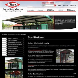 Bus Shelter Manufacturer, Bus Shelters and Suppliers, Australia