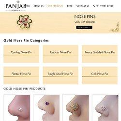 Gold Nose Pin Manufacturer