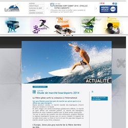 Actualité - EuroSIMA - European Surf Industry Manufacturers Association