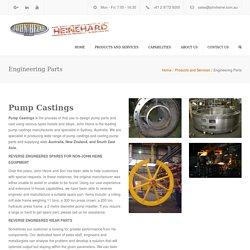 Chrome Ceramic - Custom Wear Parts Manufacturers Australia