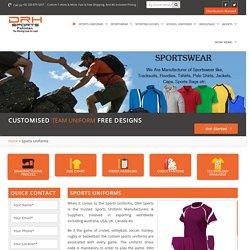 Sports Team Uniforms Exporters
