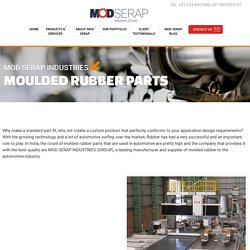 Rubber Moulded Components Suppliers in Gurgaon, India