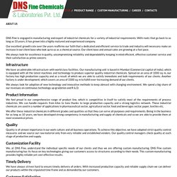 DNS Fine Chemicals & Laboratory Pvt Ltd