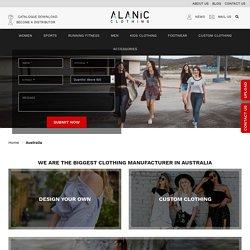 Wholesale Clothing Manufacturers & Distributors In Australia