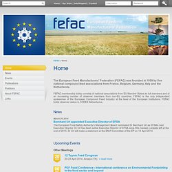 FEFAC - European Feed Manufacturers' Federation