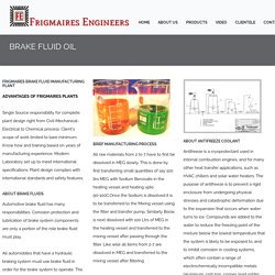 Brake Fluid Manufacturers