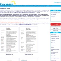 Engineering CV template, engineer, manufacturing, resume, industry, construction