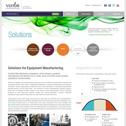 Solutions for Equipment Manufacturing