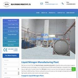 Liquid Nitrogen Manufacturing Plant,Cryogenic Nitrogen Gas Plant for Sale