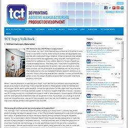 TCT Top 5 Talk Back