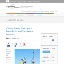 Online Safety Training for Manufacturing Employees