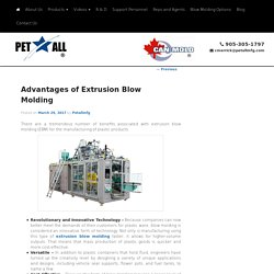 Advantages of Extrusion Blow Molding