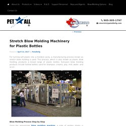 Stretch Blow Molding Machinery for Plastic Bottles