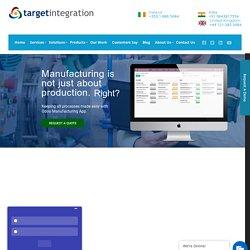 Odoo Manufacturing - Target Integration