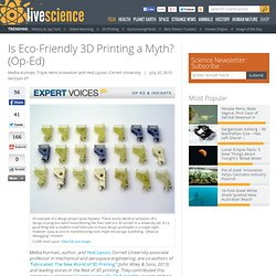 Is Eco-Friendly 3D Printing a Myth?