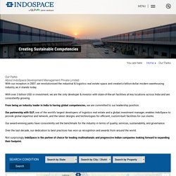 Manufacturing Space for Lease, Logistics Space for Rent - IndoSpace Parks