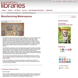 Manufacturing Makerspaces