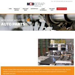 Auto Parts Manufacturing Company Gurgaon