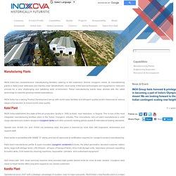 Manufacturing Plants of INOX India Pvt. Ltd.