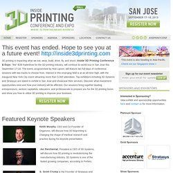 Conference and Expo for Additive Manufacturing Professionals