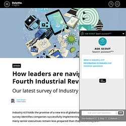 Industry 4.0: Are you ready? - Deloitte Review