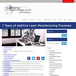 7 Types of Additive Layer Manufacturing Processes