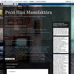 Pécsi Házi Manufaktúra: Egészséges gumicukor készítése házilag