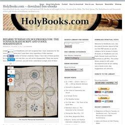 Download PDF: Voynich Manuscript & Codex Serahinianus