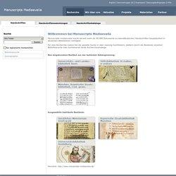 Manuscripta Mediaevalia