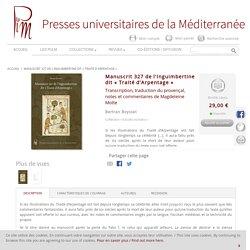 Manuscrit 327 de l'Inguimbertine dit «Traité d'Arpentage»