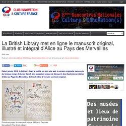 La British Library met en ligne le manuscrit original, illustré et intégral d'Alice au Pays des Merveilles