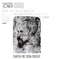 Revista de manuscritos literarios e investigación