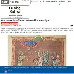 Cent manuscrits médiévaux viennent d'être mis en ligne