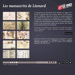 Les manuscrits de Léonard de Vinci - Cité des sciences et de l'industrie, un lieu Universcience - Paris
