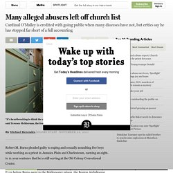 Many alleged abusers left off church list