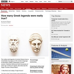How many Greek legends were really true?