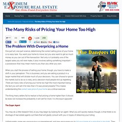 The Many Risks of Pricing Your Home Too High